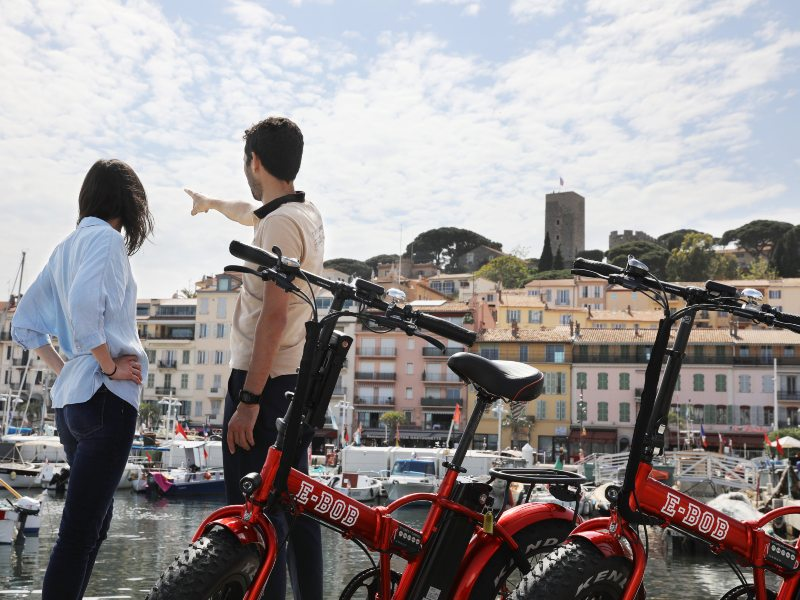 Cannes E-bike Tour