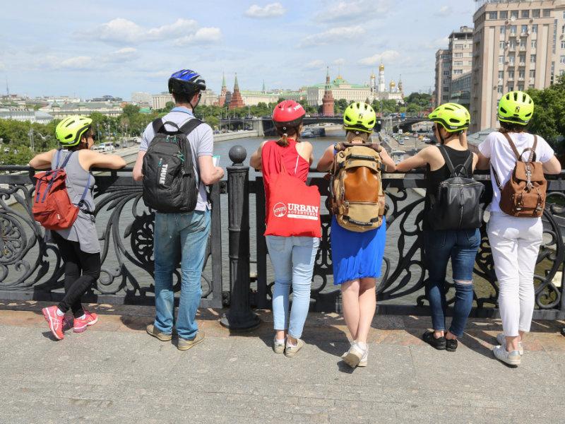 Moskau Highlights Fahrradtour