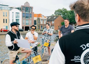 Delft Fietstour langs de Highlights