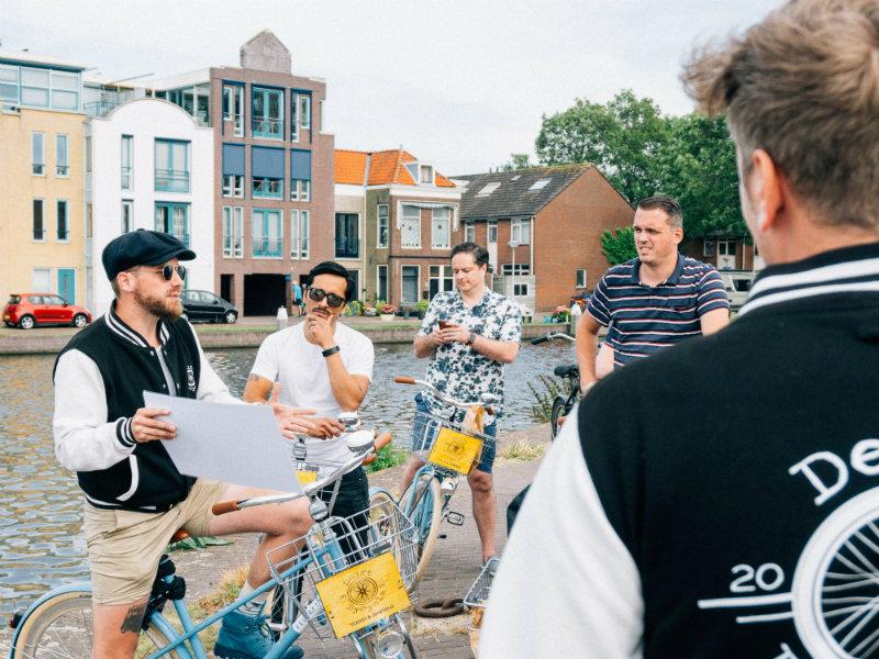 Delft Fietstour langs de Highlights