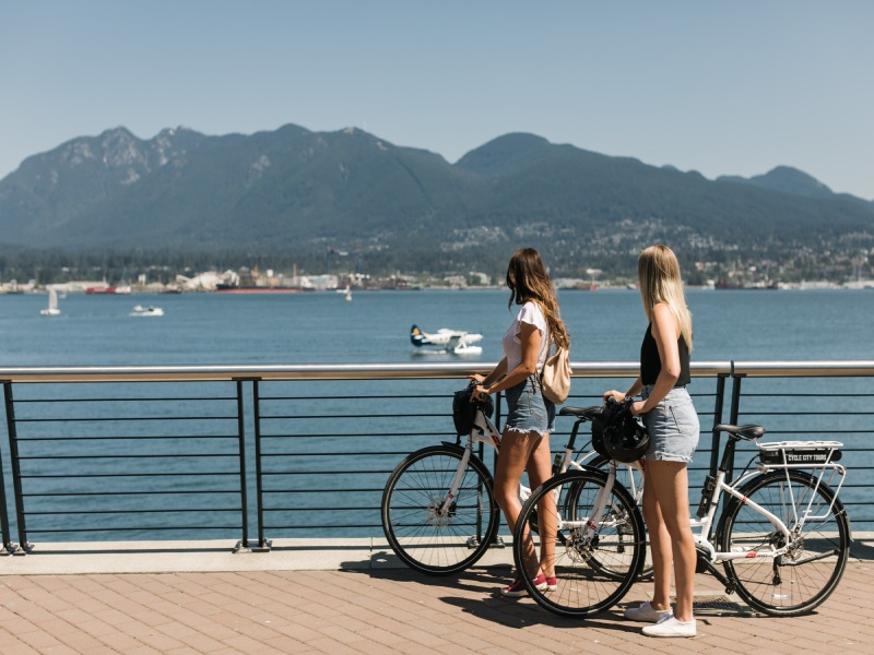 Vancouver Highlights Fahrradtour