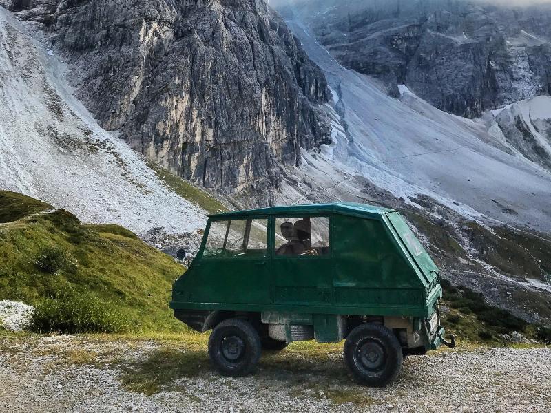 Tribulaunhütte Innsbruck mtb Toertocht