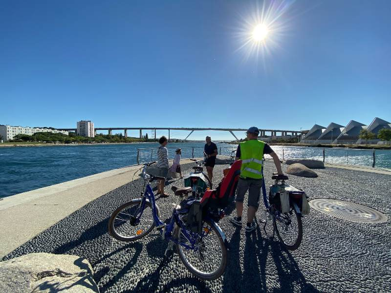 Marseille Martigues Fahrradtour