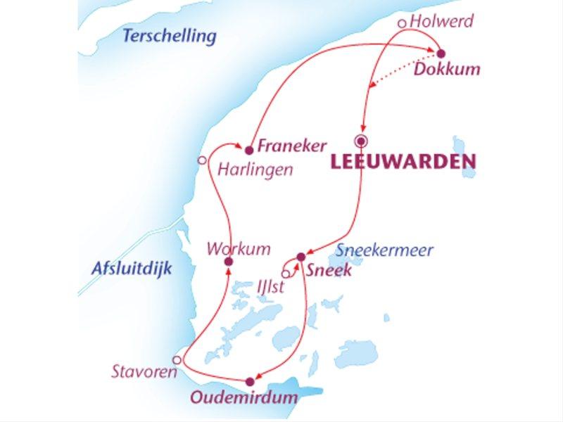 Fietsvakantie Friesland (7 dagen)