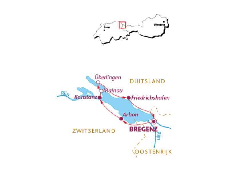 Fietsvakantie Bodensee (8-dagen)