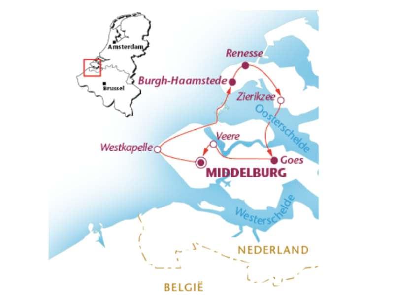 Radreise Zeeland (4 Tage)