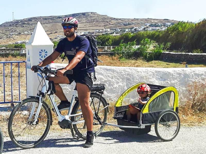 Mykonos Fokos Fahrradtour