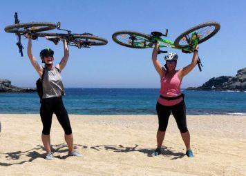 Mykonos Fietstour: Fokos Beach